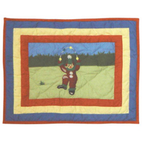 "Circus Crib  Toss Pillow 12""w x 16""l"