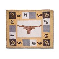 "Brand Western Pillow Sham 27""W x 21""L"