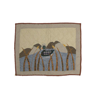 "Moose Mallard Pillow Sham 27""W x 21""L"