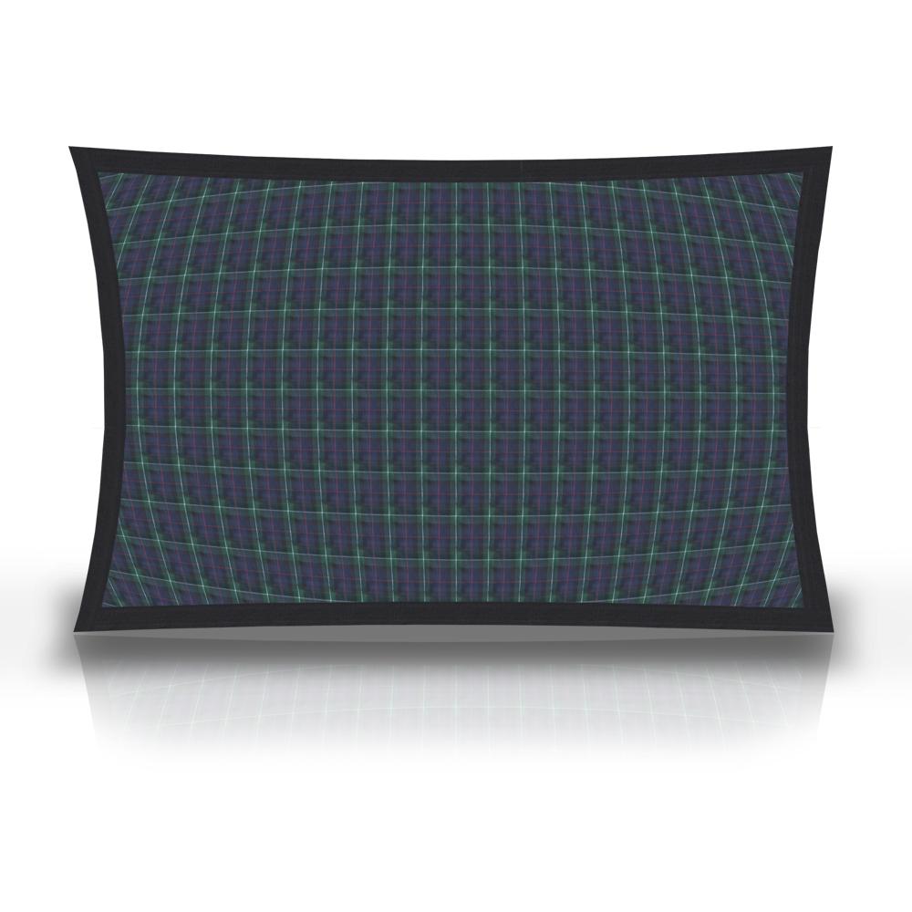 """Tartan Plaid,fabric pillow shams 27""""w x 21""""l, Flanged"""
