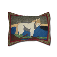 "Call of the Wild Pillow Sham 27""W x 21""L"