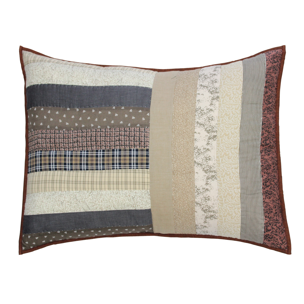 "Express Log Cabin Pillow Sham 27""W x 21""L"