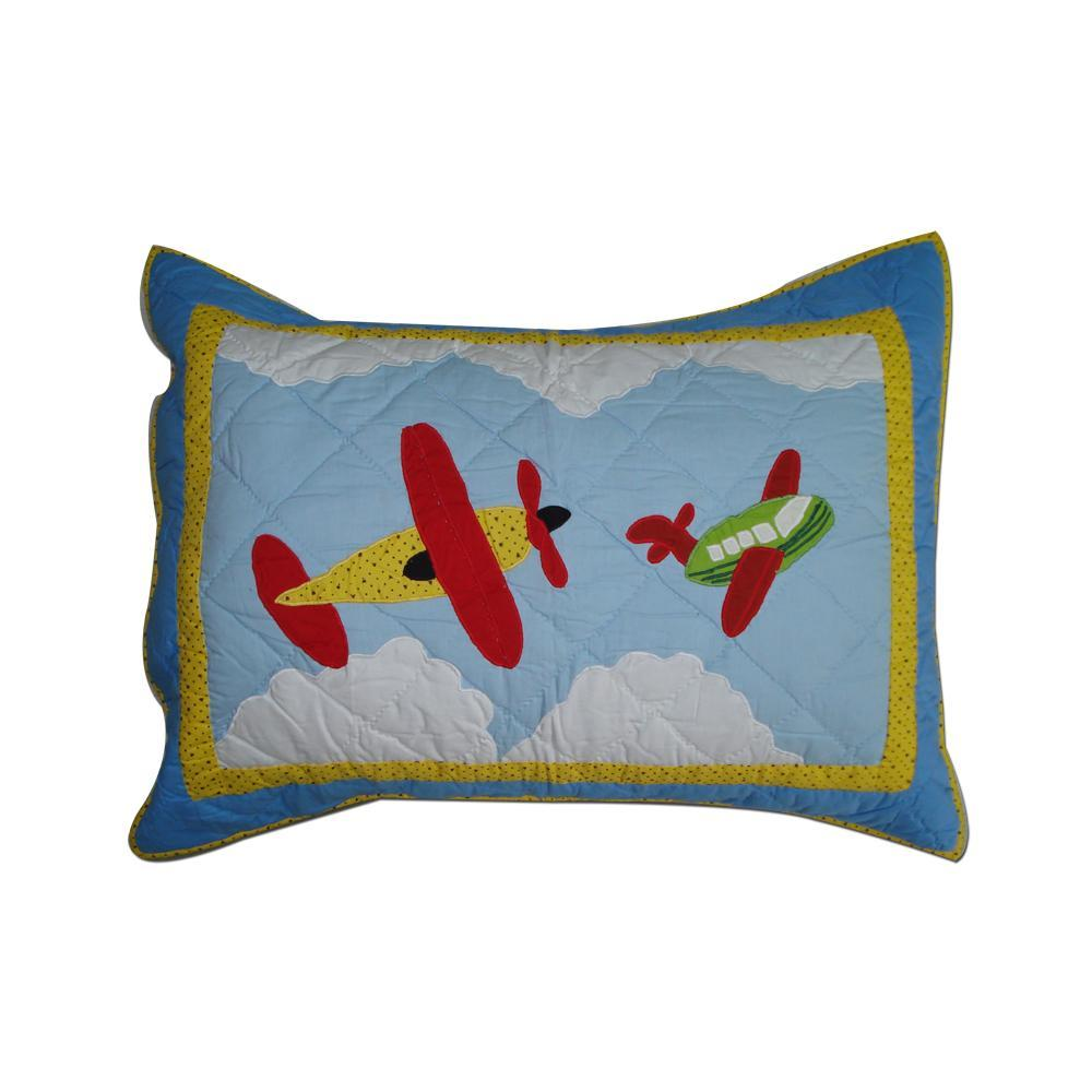 "Junior Travel Pillow Sham 27""W x 21""L"