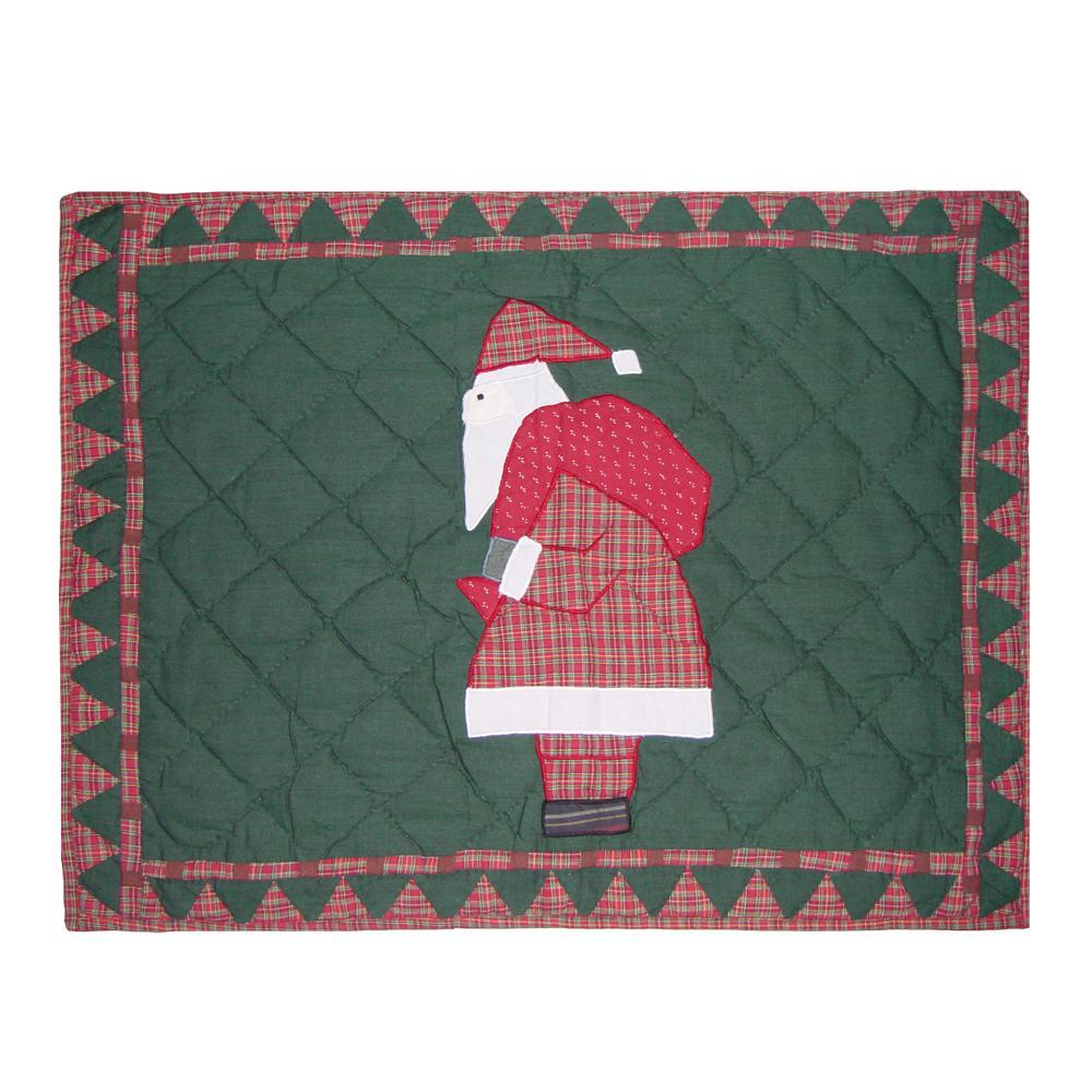 "Kris Kringle Pillow Sham 27""W x 21""L"
