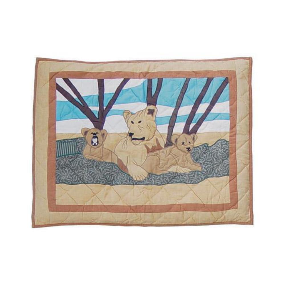 """Safari Pillow Sham 27""""W x 21""""L"""
