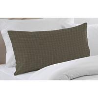 "Sage Green Plaid plaid Pillow Sham 27""W x 21""L"