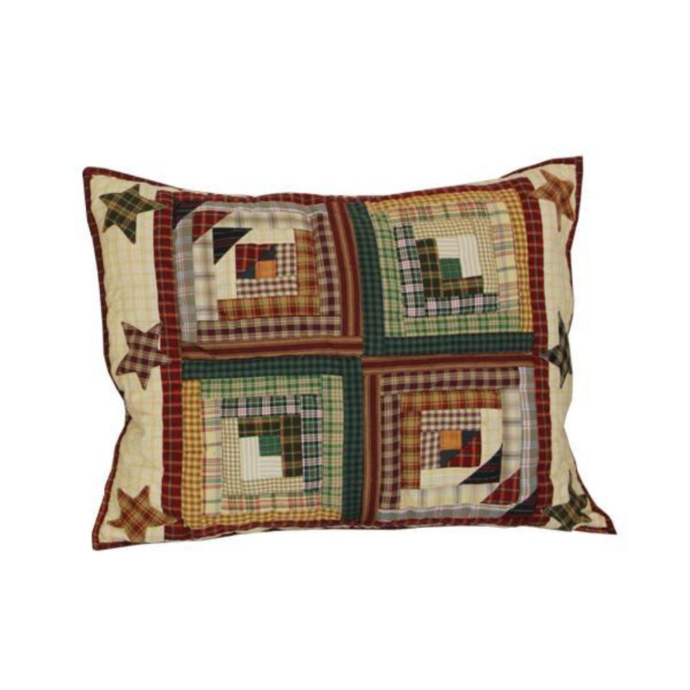 """Woodland Star and Geese Pillow Sham 27""""W x 21""""L"""