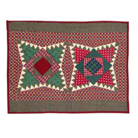 "Yuletide Stars,Pillow Sham 27""W x 21""L"