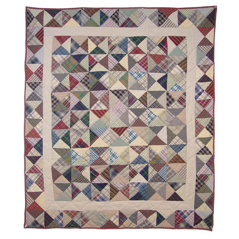 """Kaleidoscope Baby Quilt 36""""W x 46""""L"""