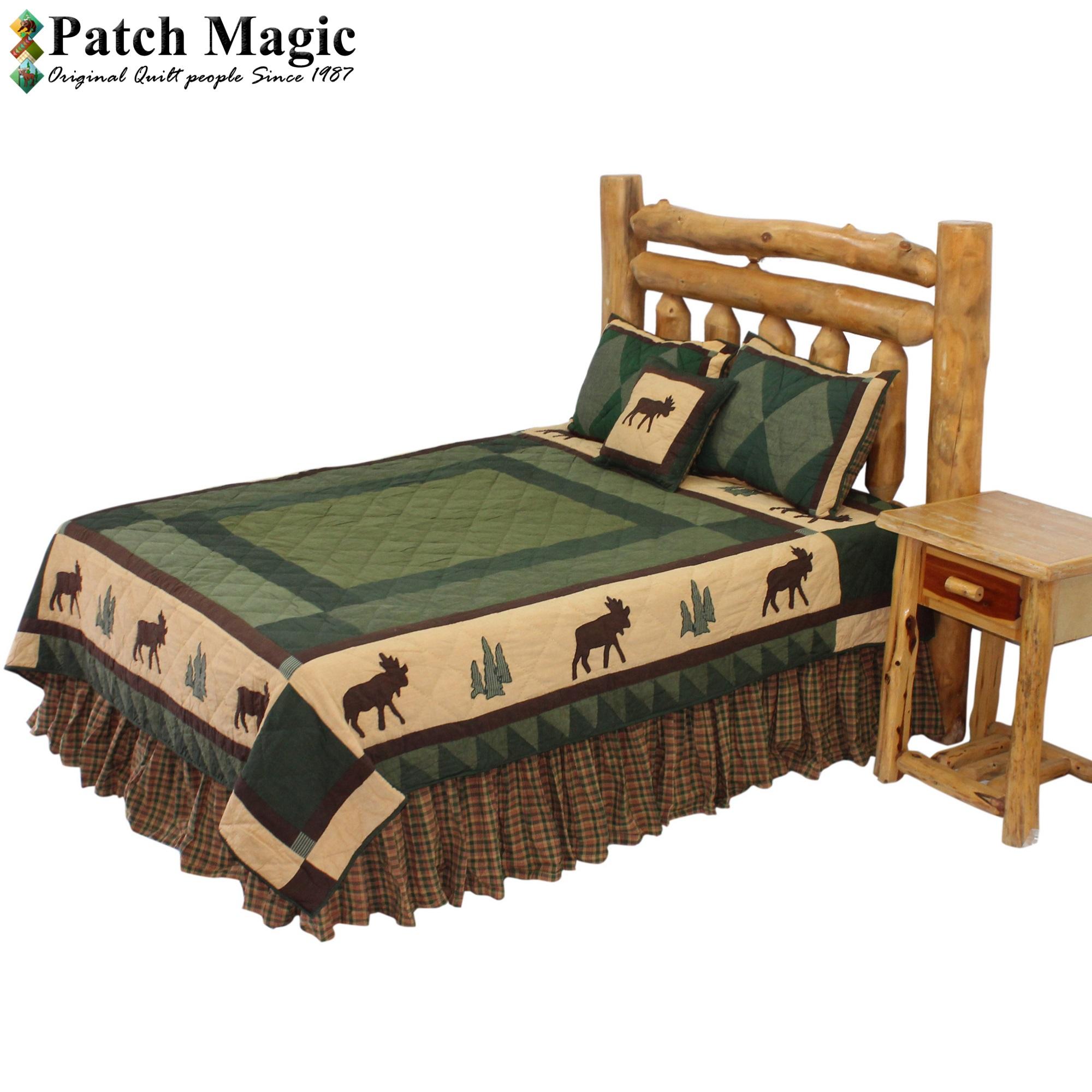 """Cedar Trail King Quilt 105""""W x 95""""L"""