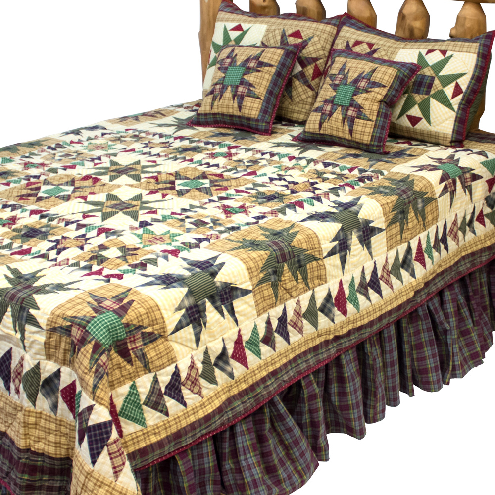 "Forever King Quilt 105""W x 95""L"