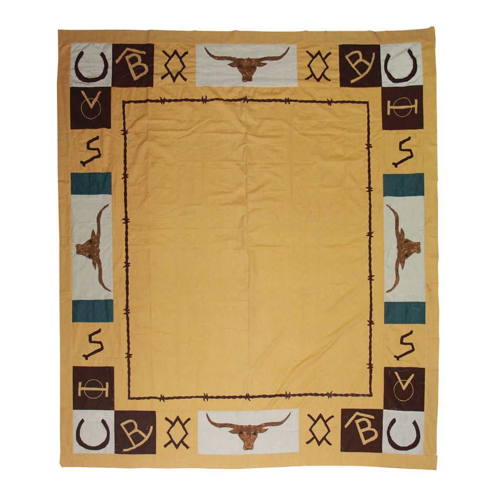 """Ranch House King Quilt 105""""W x 95""""L"""