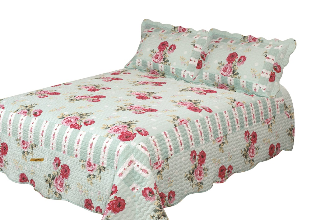 Russelliana Rest Quilt with Pillow Shams by Patch Magic