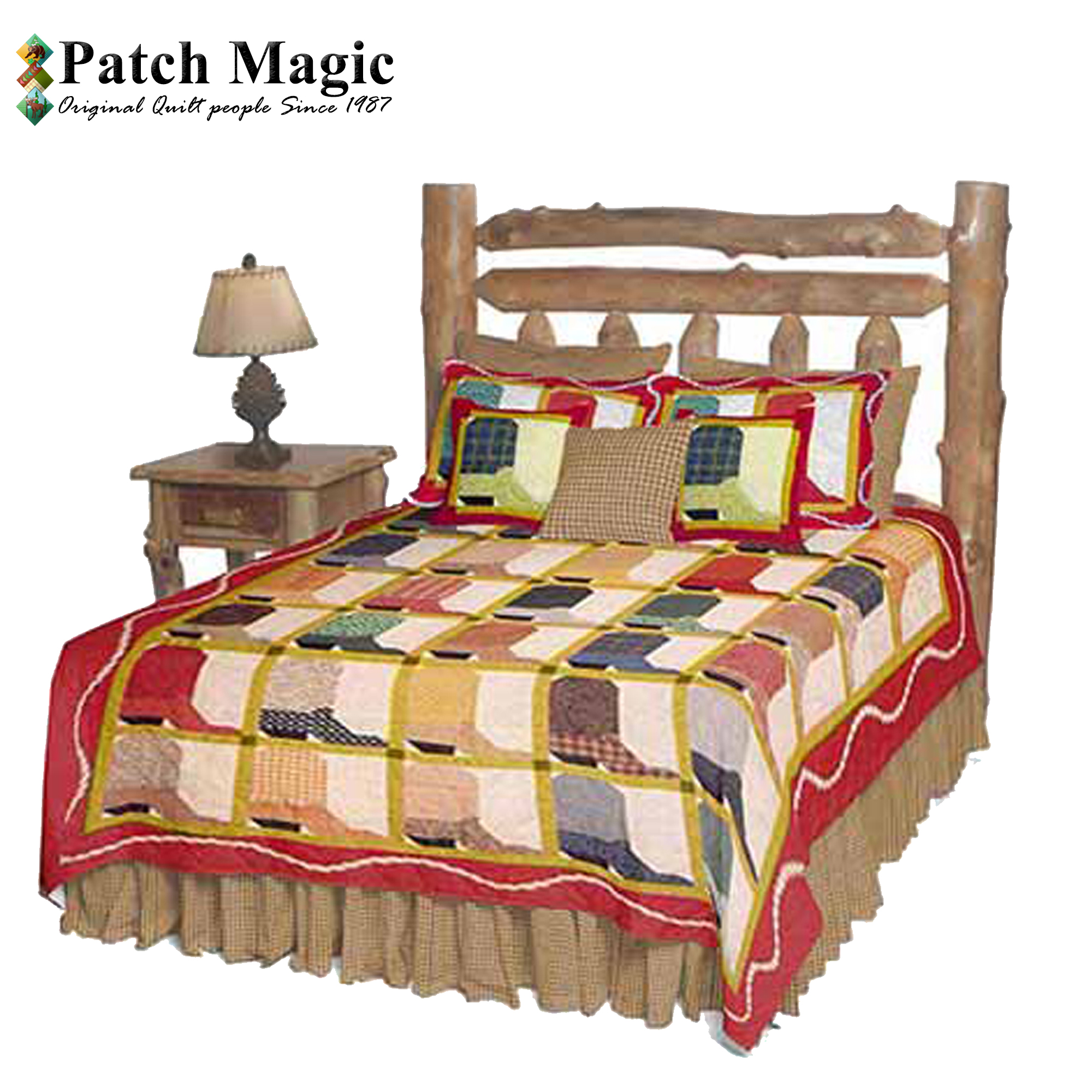 """Boots Twin Quilt 65""""W x 85""""L"""