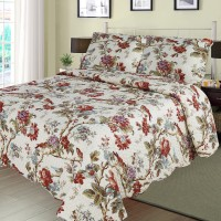 Finch Orchard Quilt Twin