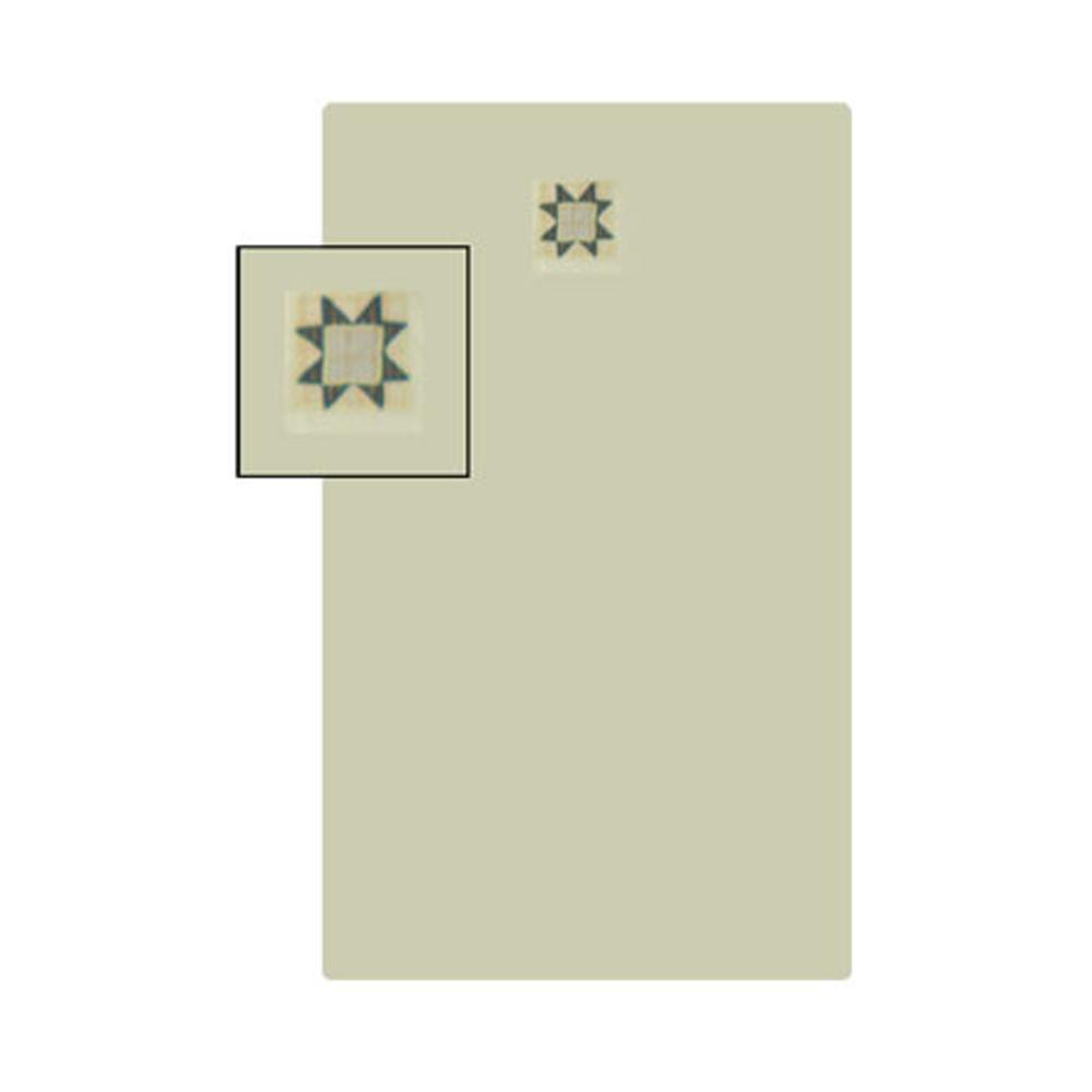 """Cottage Star Crib Sheet 28""""W x 53""""L"""