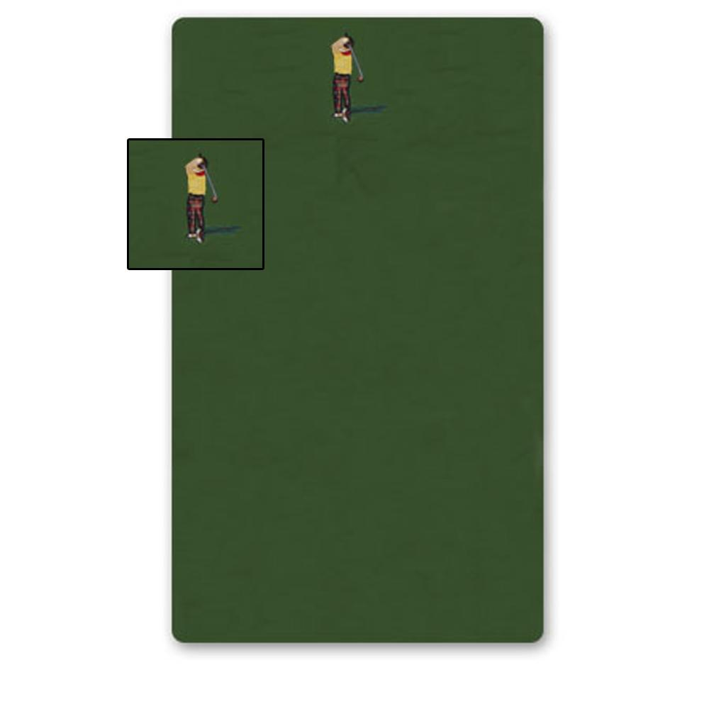 "Golf a Gift Crib Sheet 28""W x 53""L"