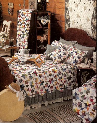 "Granma Memory super queen quilt 92""w x 96""l"