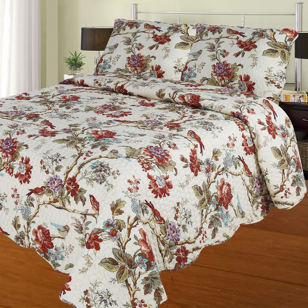 Patch Magic Finch Orchard -Twin Quilt Size -Super throw