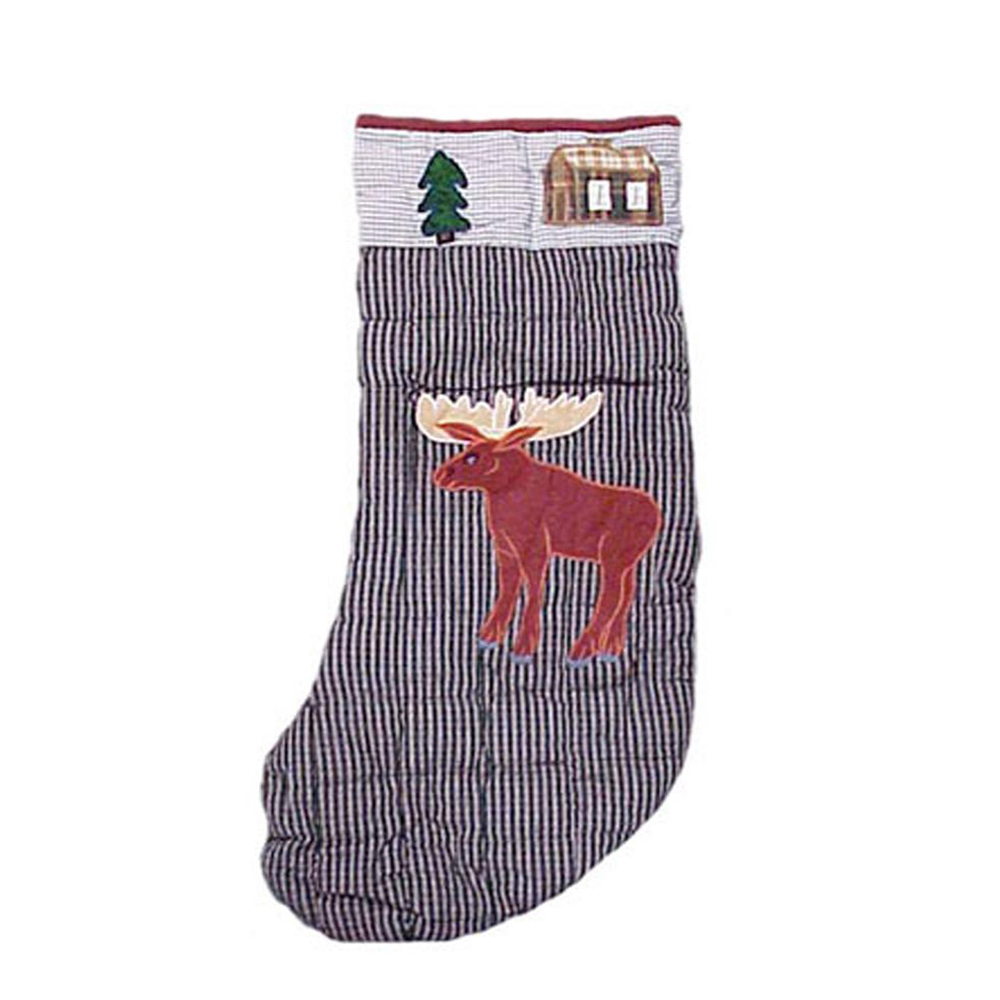 "Moose Stocking 8""W x 21""L"