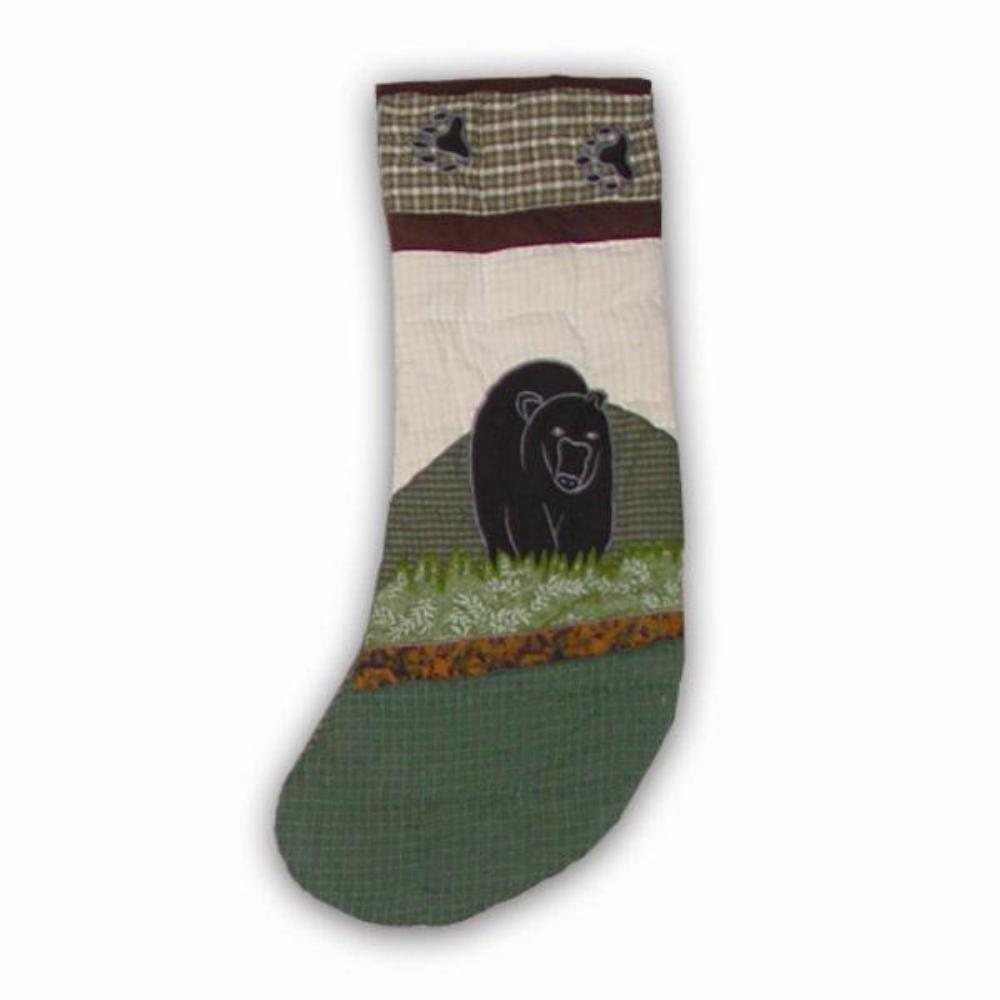 "Bear Country Stocking 6""W x 11""L"