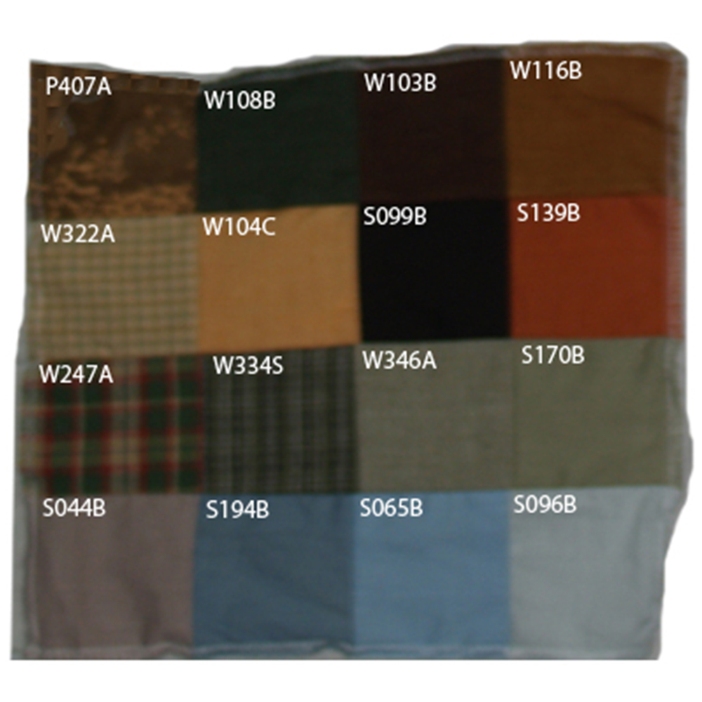"""Fox Hunt Colors 4""""W x 4""""L"""