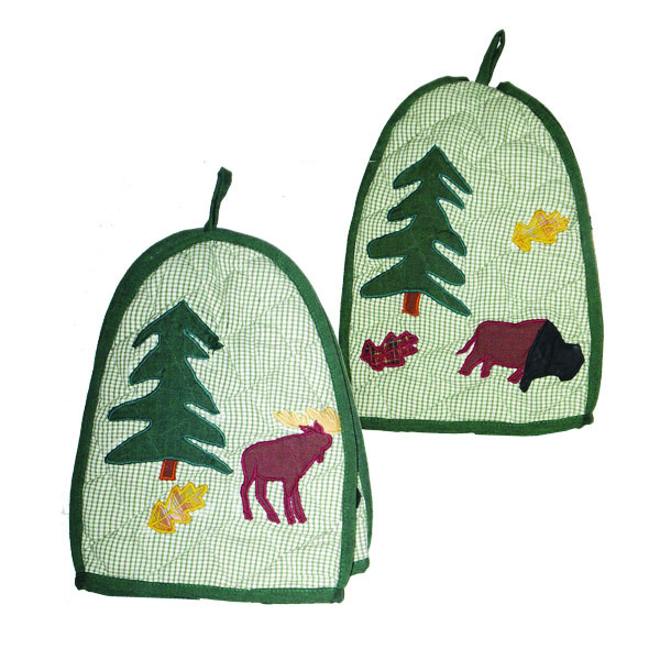 "Northwoods Walk tea cozy 7""x10"""