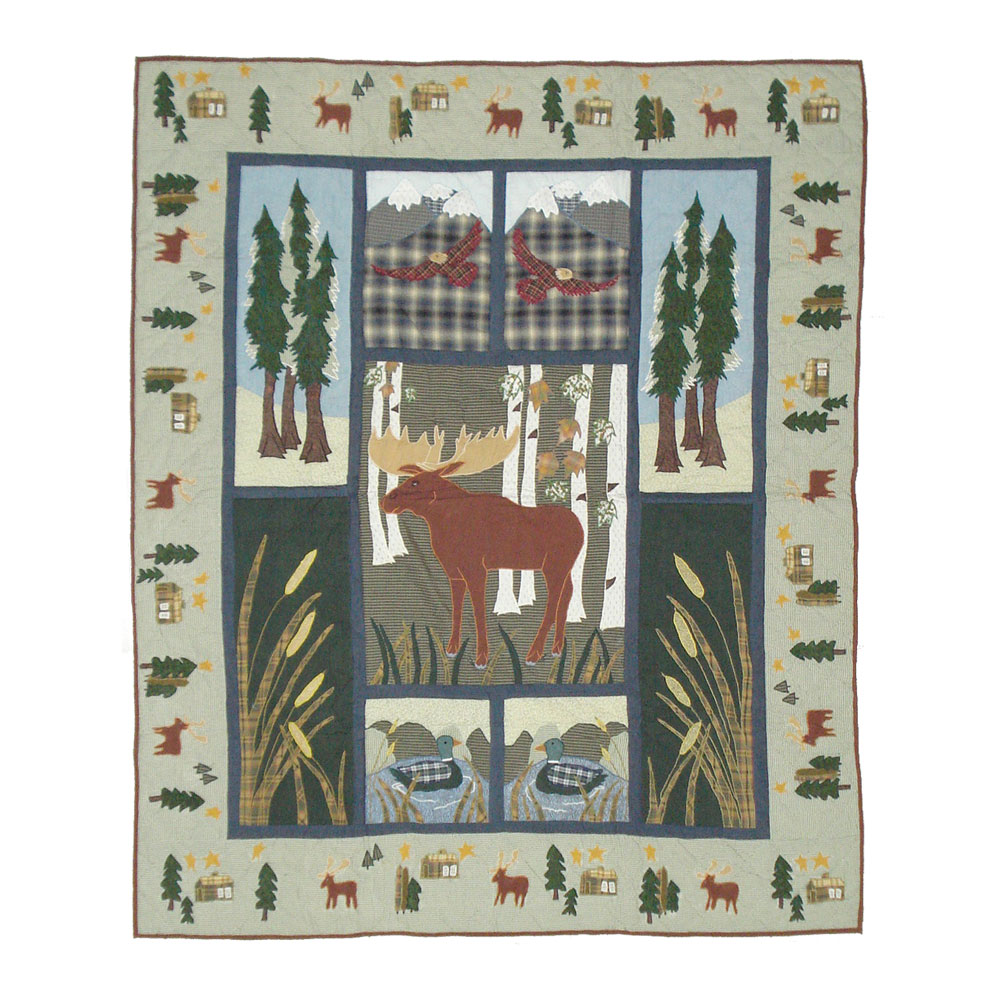 "Moose Throw 50""W x 60""L"