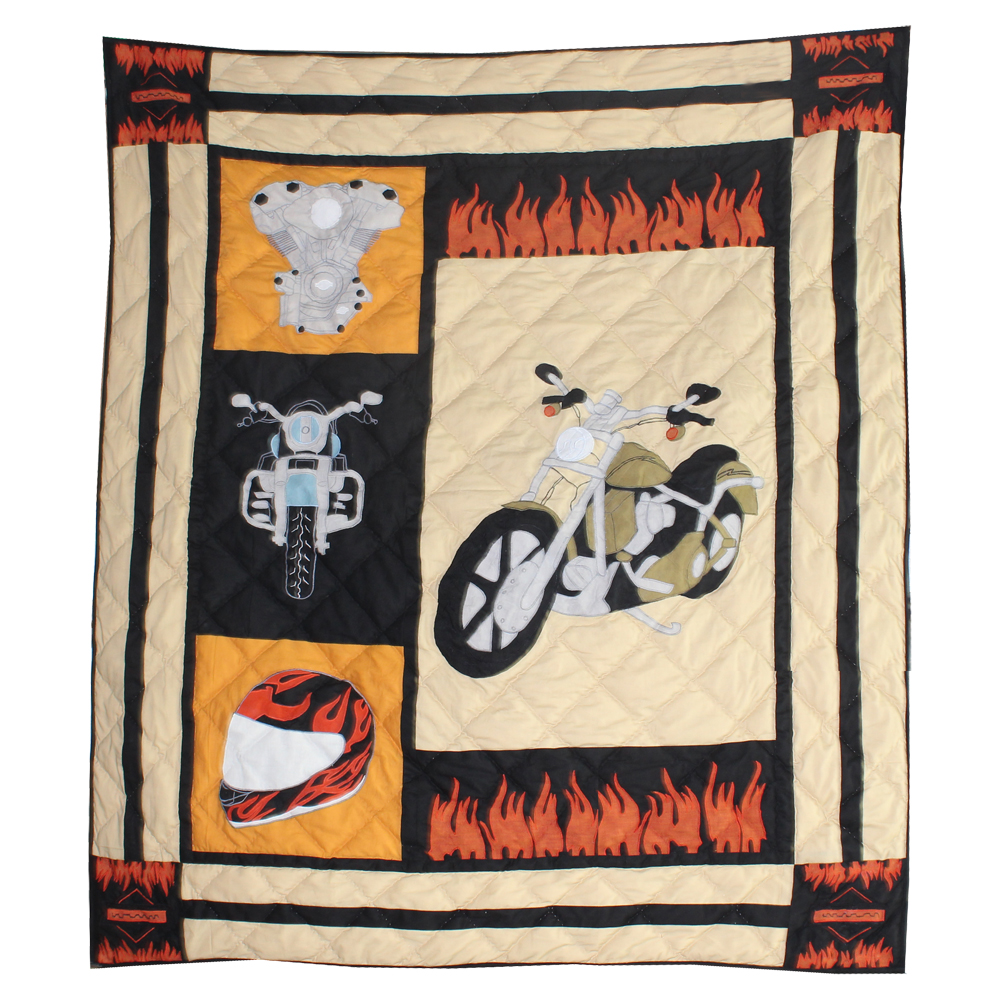 "Motor Cycle Throw 50""W x 60""L"