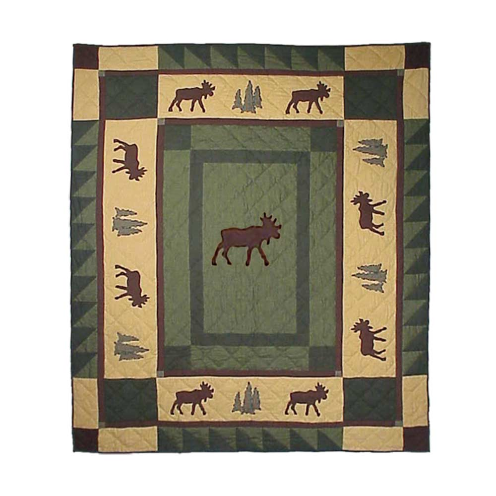 "Moose trail Throw 50""W x 60""L"
