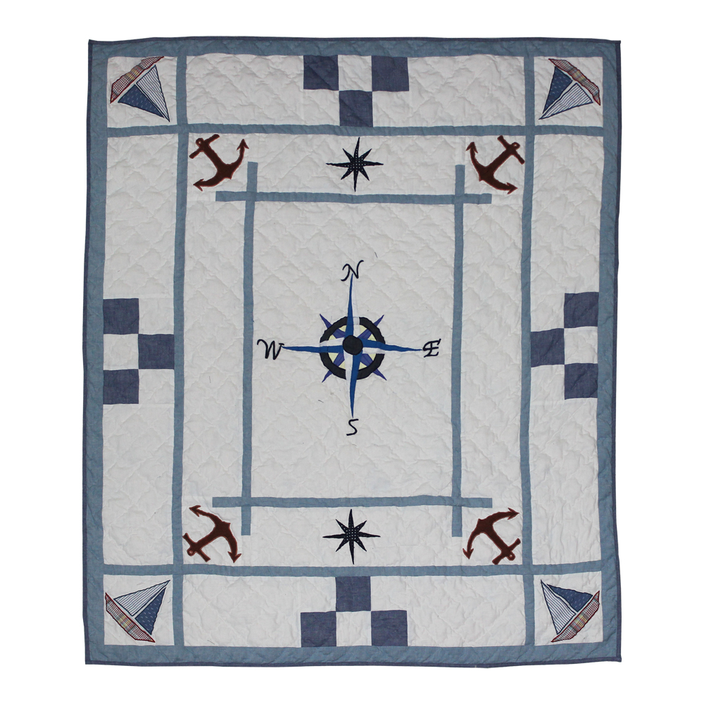 "Star of the Sea rider Throw 50""W x 60""L"