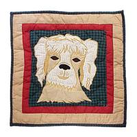 """Fido dog Toss Pillow 16""""W x 16""""L"""