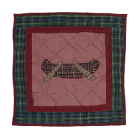"Northwood Star canoe Toss Pillow 16""W x 16""L"