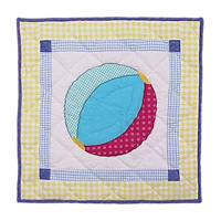 "Summer Fun ball Toss Pillow 16""W x 16""L"