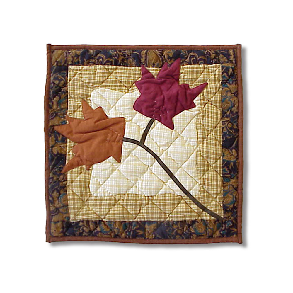 "Autumn Leaves Toss Pillow 16""W x 16""L"