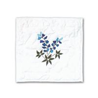 """Blue Bonnets Toss Pillow 16""""W x 16""""L"""