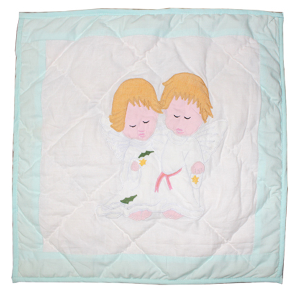"Baby Angels Toss Pillow 16""W x 16""L"