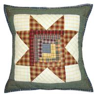 "Cottage Star Toss Pillow 16""W x 16""L"