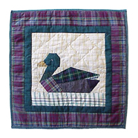 "Ducks Toss Pillow 16""W x 16""L"
