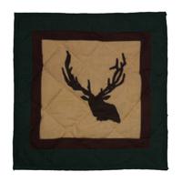 """Elk Trail Toss Pillow 16""""W x 16""""L"""