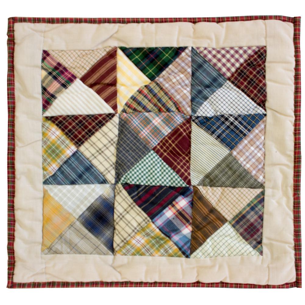 """Kaleidoscope Toss Pillow 16""""W x 16""""L"""