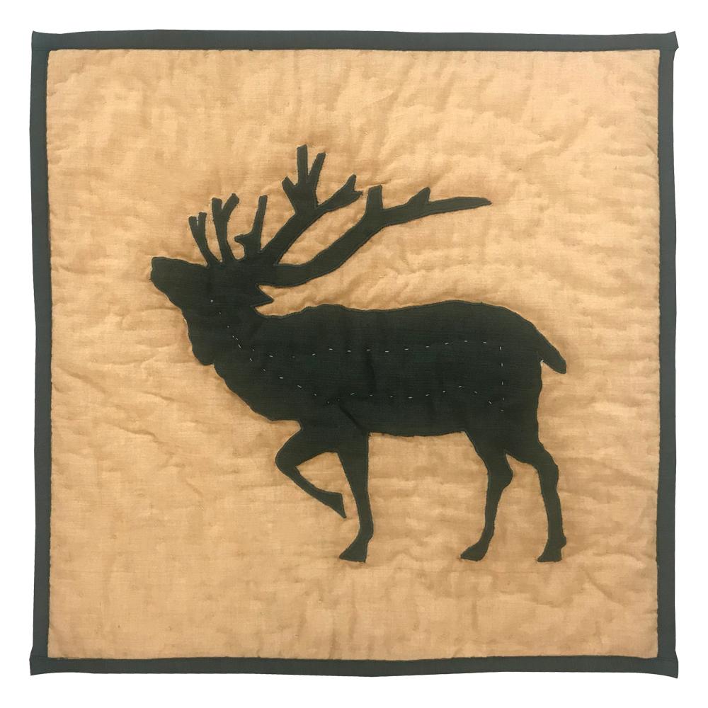 """Rocky Mountain Elk Toss Pillow 16""""W x 16""""L"""