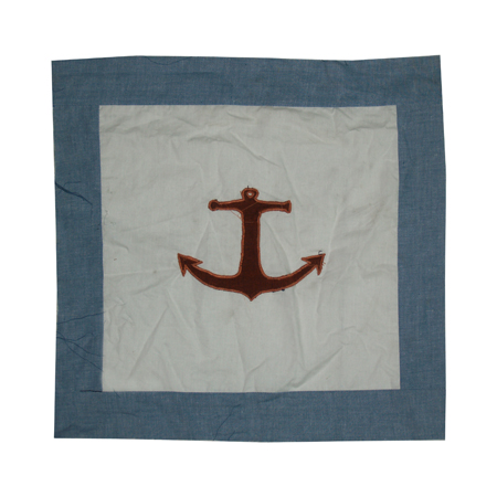 "Star of the Sea Toss Pillow 16""W x 16""L"