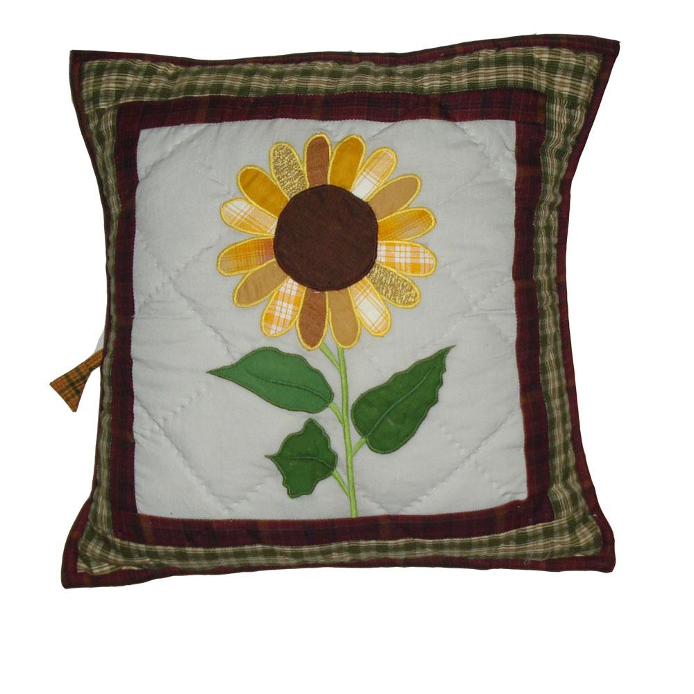 """Sun Burst Toss Pillow 16""""W x 16""""L"""