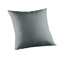 """Light Blue Pin Check Toss Pillow 16""""W x 16""""L"""