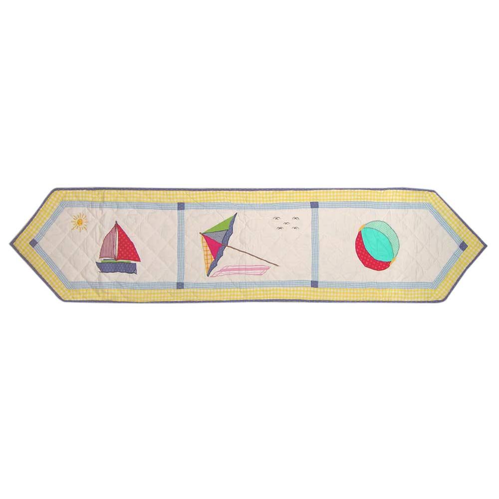 "Summer Fun Table Runner Extra Short 36""W x 16""L"