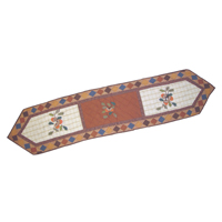 "Acres of Acorns Table Runner Long 72""W x 16""L"