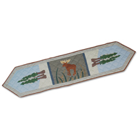 "Moose Table Runner Long 72""W x 16""L"