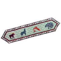 "Mountain Whispers Table Runner Long 72""W x 16""L"