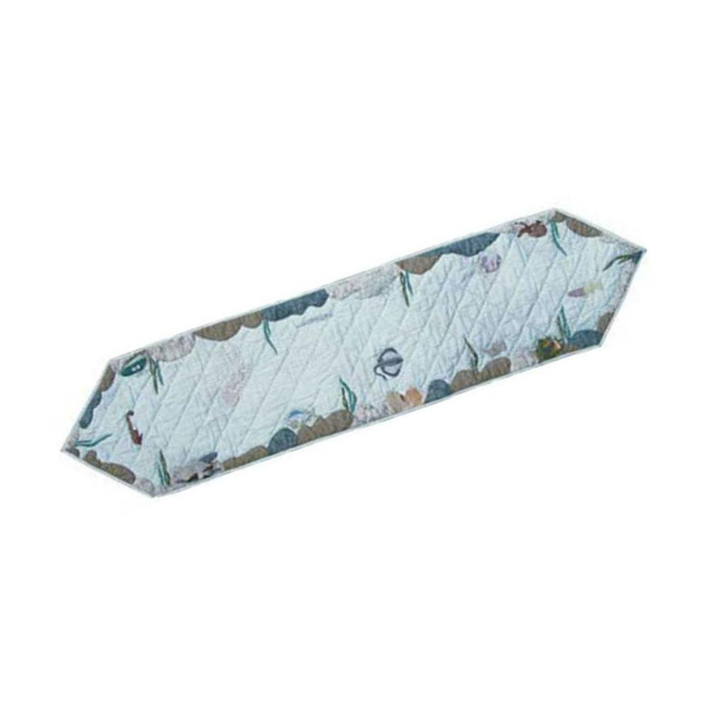 """Underwater Haven Table Runner Long 72""""W x 16""""L"""